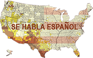 US HISPANIC POPULATION BY ZIPCODE